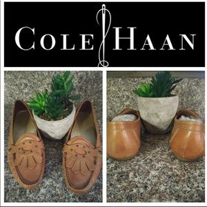 🌸🌺Cole Haan , Toffee/ Cognac loafers , class ! 8